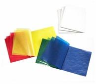 Цветная бумага витражная, рождественские цвета Mercurius, 16х16 см, 500 л., 5 цв.