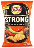 Lay's Чипсы Lay s Strong картофельные Острый чили рифленые