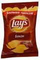 Чипсы Lay's картофельные Бекон
