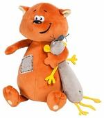 Мягкая игрушка Maxitoys ДуRашки Котэ & Mouse 25 см
