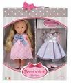 Кукла Dimian Bambolina Маленькая модница с праздничным платьем, 30 см, BD1622