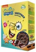 Готовый завтрак Di & Di Завтраки амарантовые Губка Боб шарики с темным шоколадом, коробка