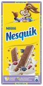 Шоколад Nesquik молочный с молочной начинкой, ягодами и злаками