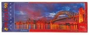 Пазл Hatber Panorama Ночной Сидней (90ПЗ4_10067), 90 дет.
