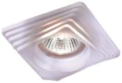 Встраиваемый светильник Novotech Glass 369126, белый