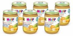 Каша HiPP безмолочная зерновая с фруктами (с 6 месяцев) 190 г, 6 шт.