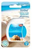Donfeel зубная нить Морская свежесть 30 м