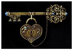 Сделай своими руками Набор для вышивания крестиком Ключ счастья 35 х 26 см (К-37)