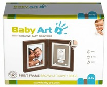 Baby Art Print frame - Brown&Taupe/Beige (34120107)