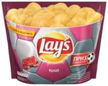 Lay's Чипсы Lay s картофельные Краб (пачка-чаша)