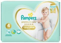 Pampers Premium Care трусики 4 (9-15 кг) 38 шт.