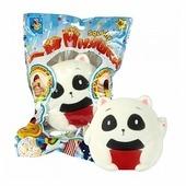 Игрушка-мялка 1 TOY Панда сидящая Т12431