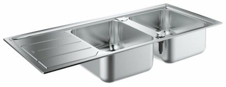 Врезная кухонная мойка Grohe K500 31588SD0