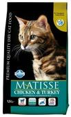 Корм для кошек Farmina Matisse с курицей, с индейкой