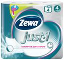 Туалетная бумага Zewa Just1 четырёхслойная