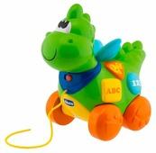 Каталка-игрушка Chicco Говорящий дракон (69033) со звуковыми эффектами