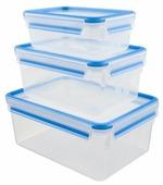 EMSA Набор из 3 контейнеров CLIP & CLOSE 508567