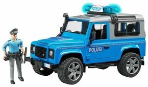 Внедорожник Bruder Land Rover Defender Station Wagon (02-597) с фигуркой 1:16