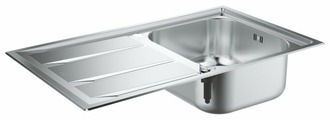 Врезная кухонная мойка Grohe K400+ 31568SD0 87.3х51.3см нержавеющая сталь