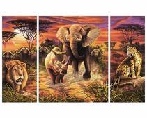 "Schipper Картина по номерам ""Африка"" 50х80 см (9260520)"