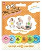 Happy line Набор стикеров Stick'n Click Первые достижения, 13 шт. (83012)