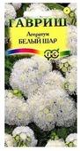 Семена Гавриш Сад ароматов Агератум Белый шар 0,1 г