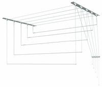 Сушилка для белья Лиана настенно-потолочная металлическая 2,4 м