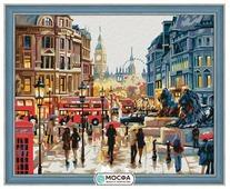 """Мосфа Картина по номерам """"Осень в Лондоне"""" 40х50 см (7С-0017)"""