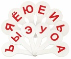 Набор букв СТАММ Касса (веер) гласные буквы