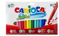 "Carioca Фломастеры ""Jumbo"" 18 шт. (40566)"