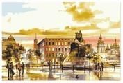 "Menglei Картина по номерам ""Памятник Богдану Хмельницкому"" 40x50 (MG3013)"