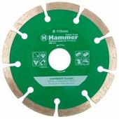 Диск алмазный отрезной 115x22.23 Hammer Flex 206-101 DB SG