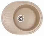 Врезная кухонная мойка BaltGran B6149 61х49см искусственный гранит