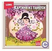 LORI Картина из пайеток Маленькая фея Ап-035