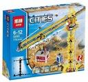 Конструктор Lepin Cities 02069 Высотный строительный кран