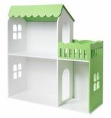 Новый Меридиан Кукольный домик два этажа с балконом ДК-2
