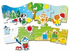 Набор пазлов Vladi Toys 4 сезона (VT2907-02)