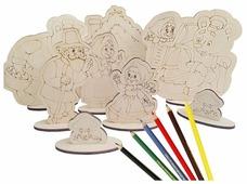 Мастер игрушек Настольный театр Театр-раскраска Маша и Медведь (IG0123)