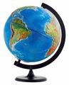 Глобус физико-политический Глобусный мир Двойная карта 320 мм (10202)