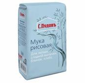 Мука С.Пудовъ рисовая, 0.5 кг