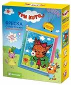 Фантазёр Фреска с блестками Три кота «Карамелька» (405101)