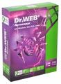 Dr.Web Антивирус (2 ПК, 1 год) коробочная версия