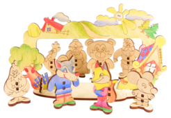 Woody Театр - конструктор Детский театр (518)