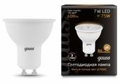 Лампа светодиодная gauss 101506107, GU10, JCDR, 7Вт