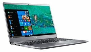 "Ноутбук Acer SWIFT 3 (SF315-52G-50UB) (Intel Core i5 8250U 1600 MHz/15.6""/1920x1080/8GB/256GB SSD/DVD нет/NVIDIA GeForce MX150/Wi-Fi/Bluetooth/Linux)"