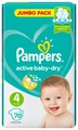 Pampers подгузники Active Baby-Dry 4 (9-14 кг) 70 шт.