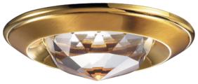 Встраиваемый светильник Novotech Glam 369428, золотой