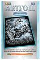 Гравюра KSG Конь (1033) серебристая основа