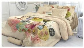 Постельное белье 1.5-спальное Verossa Portobello 50х70 см, перкаль