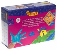 JOVI Пальчиковые краски 6 цветов х 125 мл (560/S)